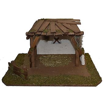 Nativity scene Christmas crib crib crib stable ADAM handmade from Bavaria for figures up to 10 cm