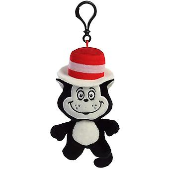 Dr. Seuss Cat in The Hat Plush Key Clip
