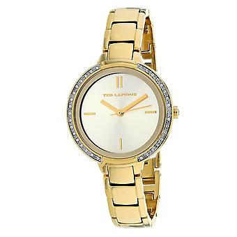 Ted Lapidus Women's Classic Gold Dial Watch - A0730PTIX