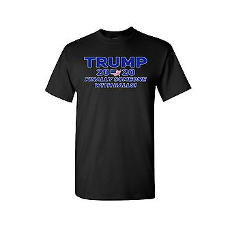Unisex Trump Finally Someone With Balls Short Sleeve Shirt