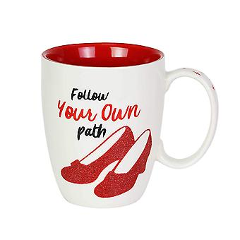 Mug - Wizard of Oz - Ruby Glitter Coffee Cup 12oz New 6003835