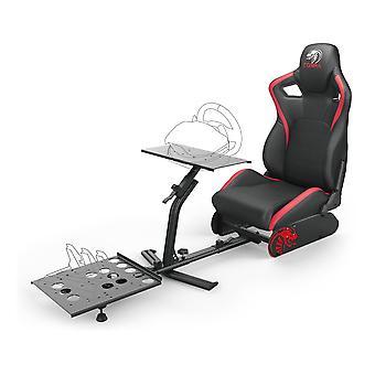 Nitho Cobra RM-1 S extra höjd racing Seat med 135 graders Reclinable mekanism