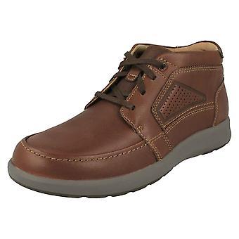 Mens Clarks Lace Up Ankle Boots Un Trail Limit