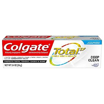 Colgate total sf toothpaste, deep clean, 3.4 oz