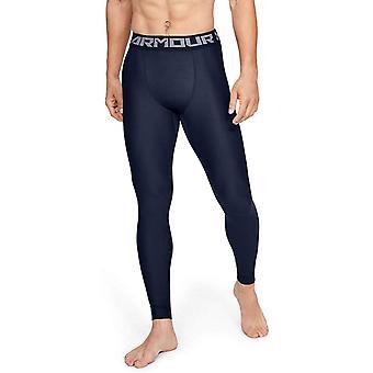 Under Armour mænd ' s heatgear Armour 2,0 leggings, midnat, blå, størrelse Medium