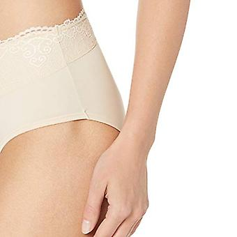 Bali Women's Passion for Comfort Hipster Panty, Soft, Soft Taupe Lace, Size 6.0