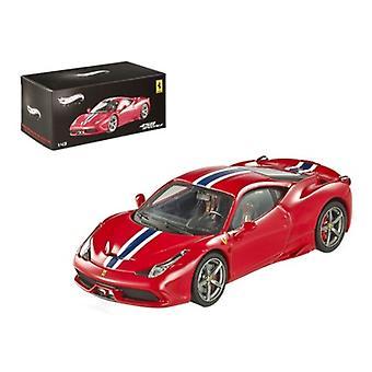 Ferrari 458 Italia Speciale Elite Edition 1/43 Diecast Car Model par Hotwheels