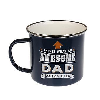 History & Heraldry Dad Tin Mug 1
