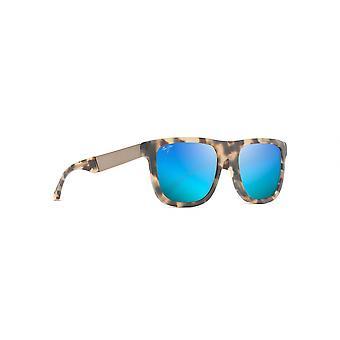 Maui Jim Talk Story B779 10M Matte Tortoise/Blue Hawaii Sunglasses