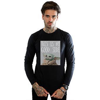 Tähtien sota miehet ' s Mandalorian lapsi hyvä puoli pitkähihainen T-paita