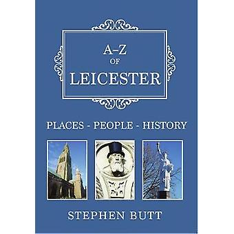 AZ of Leicester by Butt & Stephen