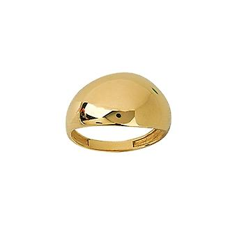 14k Yellow Gold Graduated Narrow Dome Ring Jewelry Gifts for Women - Ring Size: 6 to 8
