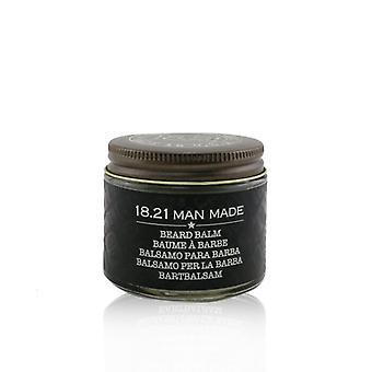 18.21 Man Made Beard Balm - # Spiced Vanilla - 56.7g/2oz