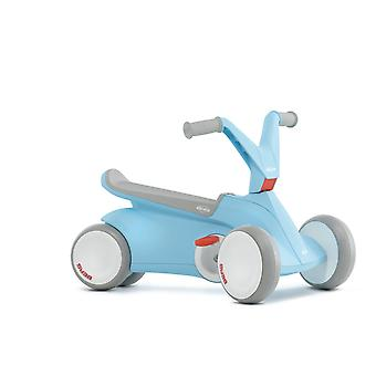 BERG GO2 2 in 1 Push and Pedal Go Kart Blue