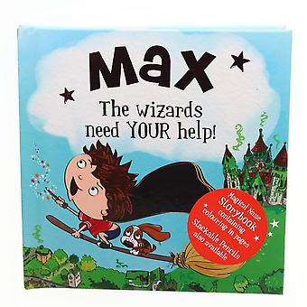History & Heraldry Magical Name Storybook - Max