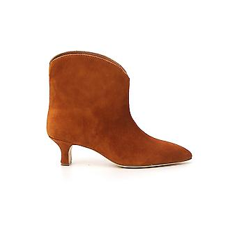 Paris Texas Px194xv003cro Women's Brown Suede Ankle Boots