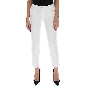 J Brand Jb002692j1617 Dames's White Cotton Jeans