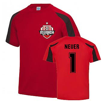 Manuel Neuer Munich Sports Training Jersey (rosso)