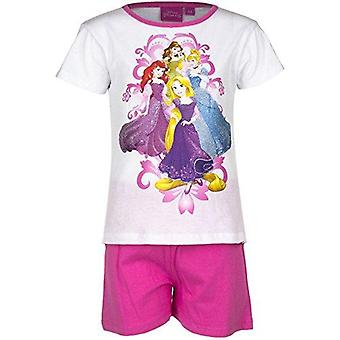 Disney princess girls pyjama short sleeve