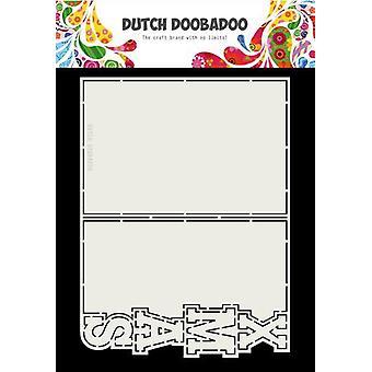 الهولندية Doobadoo بطاقة الفن عيد الميلاد A5 470.713.735