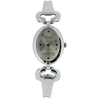 Olivia Collection Damen Silber Zifferblatt Armband Strap Dress Watch COS36