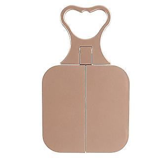 Danielle 'Debut' Free Standing or Hand Held Travel Mirror -Nude