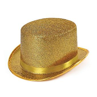Top Hat. Gold Lurex