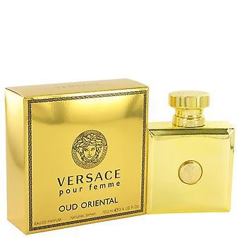 Versace pour femme oud oriental eau de parfum spray by versace 517621 100 ml