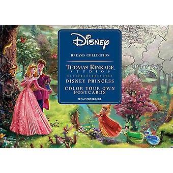 Disney Dreams Collection Thomas Kinkade Studios Disney Princess Color