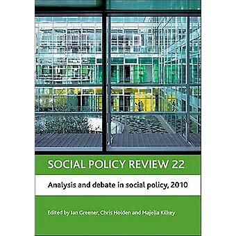 Social Policy Review 22 - 9781847427113 Book