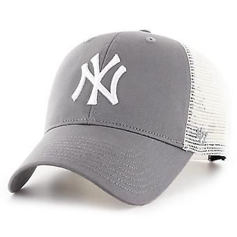 47 Brand Trucker Cap - FLAGSHIP New York Yankees dunkelgrau