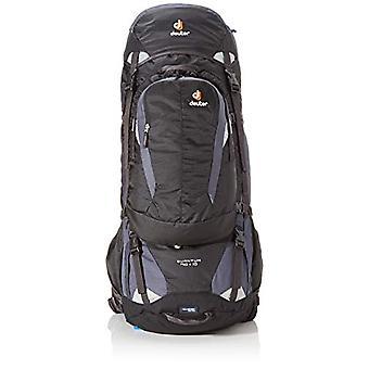 Deuter Quantum 70-10 - Unisex-Adult Backpack - (Black/Silver) - 32 x 26 x 85 cm - 80 litres
