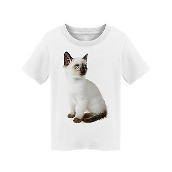 Siamese Kitten: Looking Up Tee Toddler's -Image by Shutterstock