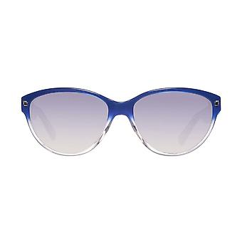 Dsquared2 DQ0147 92W 57 Ladies Blue Oval Sunglasses - Blue