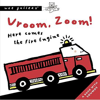 Vroom Zoom Here Comes The Fire Engine by Surya Sajnani