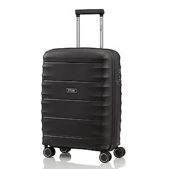 TITAN Highlight Handbagage Trolley S, 4 wielen, 55 cm, 38 L, zwart