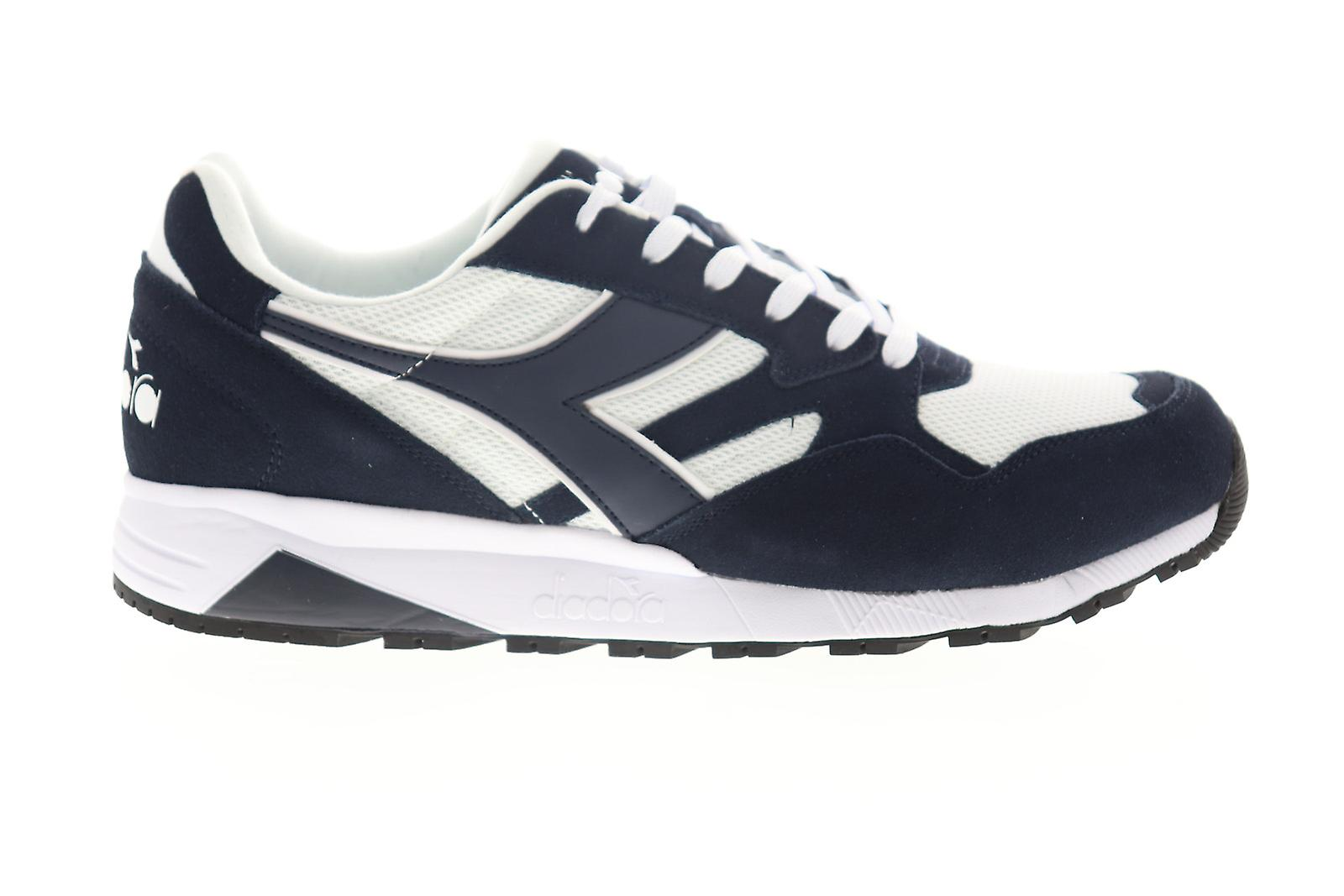 Diadora N902 S Menns Blå Mesh Lace Up Low Top Joggesko Sko