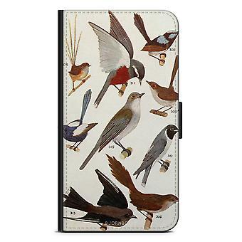 ビョルンベリーウォレットケースiPhone 5C - 鳥