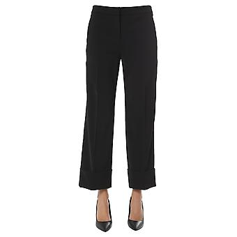 Boutique Moschino 031311240555 Dames's Zwarte Polyester Broek