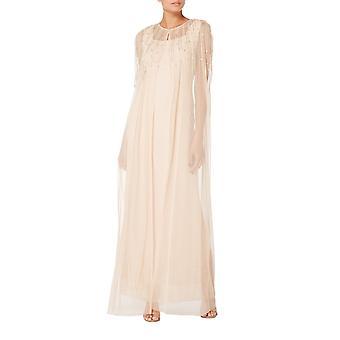 Blush cape and dress