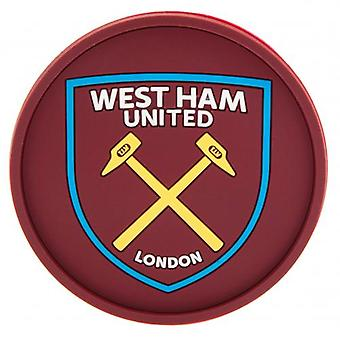 West Ham United Silicone Coaster