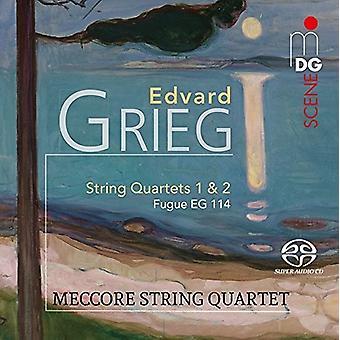 Grieg / Meccore String Quartet - Edvard Grieg: String Quartets 1 & 2 [SACD] USA import