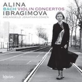 Bach, J.S. / Ibragimova, Alina / Cohen, Jonathan - Violin Concertos Bwv1041 - 1042 - 1052 - 1055 [CD] USA import
