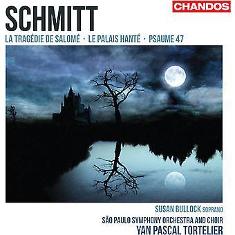 F. Schmitt - Florent Schmitt: La Trag Die De Salom ; Le Palais Hant ; Psaume 47 [SACD] USA import