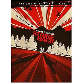 Strike Back: The Complete Fourth Season [DVD] USA import