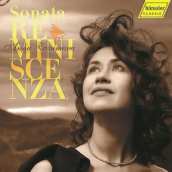 Catoire / Zassimova - Sonata Reminiscenza [CD] USA import