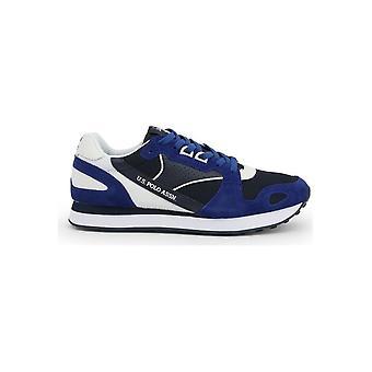 U.S. Polo Assn. - Shoes - Sneakers - FLASH4117S0_YM1_ELBL-WHI - Men - blue,navy - EU 43