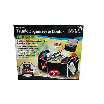 Collapsible trunk organizer & cooler