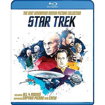 Star Trek: The Next Generation Motion Picture Coll [Blu-ray] USA import
