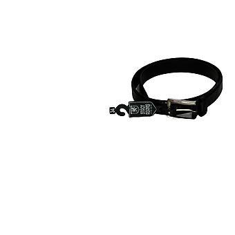 Stacy Adams Men's 34 Lizzard 32mm Belt Black
